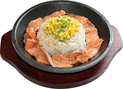 5a salmon rice