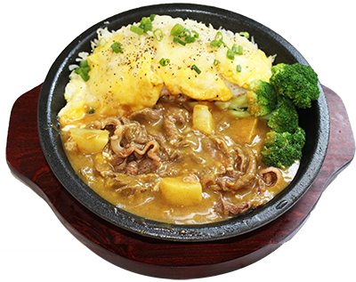 6a curry beef rice